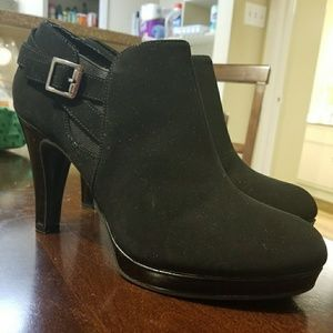 Kenneth Cole Black Booties.